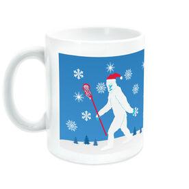 Guys Lacrosse Coffee Mug Abominable Laxman