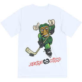 Seams Wild Hockey Short Sleeve Tech Tee - Chantler