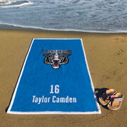 Baseball Premium Beach Towel - Custom Team Logo