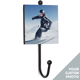 Skiing Medal Hook - Your Photo