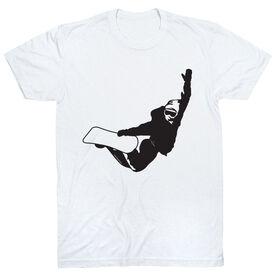 Snowboarding Short Sleeve T-Shirt - High Altitude