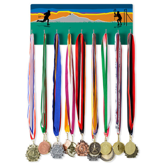Guys Lacrosse Hooked on Medals Hanger - Field Play