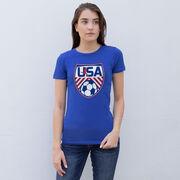 Soccer Women's Everyday Tee - Soccer USA