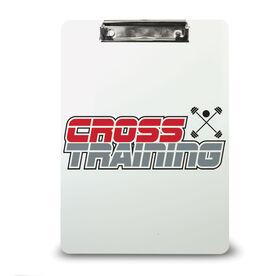 Cross Training Custom Clipboard Cross Training Your Logo