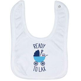 Lacrosse Baby Bib - Ready To Lax