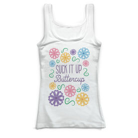 Field Hockey Vintage Fitted Tank Top - Suck It Up Buttercup