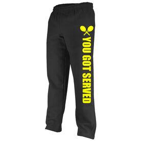 Tennis Fleece Sweatpants You Got Served