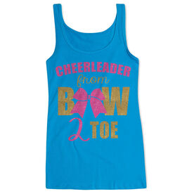 Cheerleading Women's Athletic Tank Top Cheerleader From Bow 2 Toe