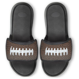 Football Repwell® Slide Sandals - Football Texture