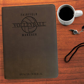 Volleyball Executive Portfolio - Manager Crest