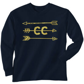 Cross Country Youth T-Shirt Long Sleeve Arrows