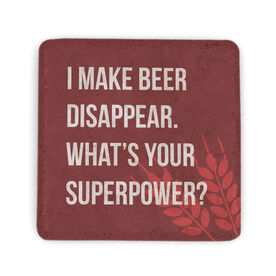 Stone Coaster - Beer - Whats Your Superpower