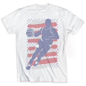 Vintage Basketball T-Shirt - USA Baller