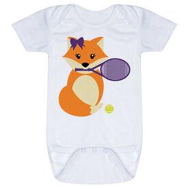 Tennis Baby One-Piece - Tennis Fox