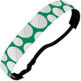 Golf Julibands No-Slip Headbands - Tossed Ball Pattern