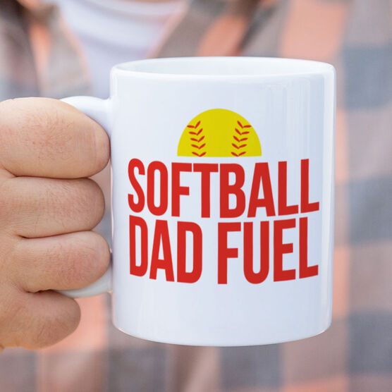 Softball Coffee Mug - Softball Dad Fuel