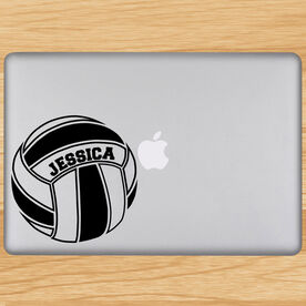 Volleyball Removable Laptop Decal Personalized Volleyball