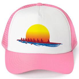 Crew Trucker Hat Crew At Sunrise