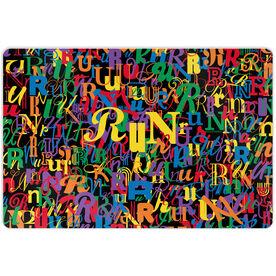 "Running 18"" X 12"" Aluminum Room Sign - Run Letters"