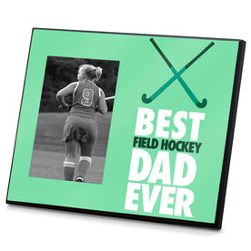 Field Hockey Wood Frame Best Dad Ever