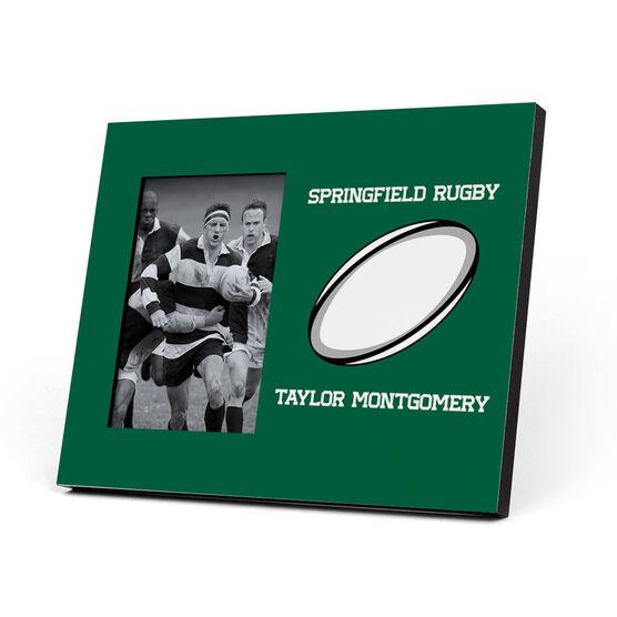 Rugby Photo Frame - My Team Ball