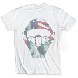 Vintage Baseball T-Shirt - Catcher's American Pride