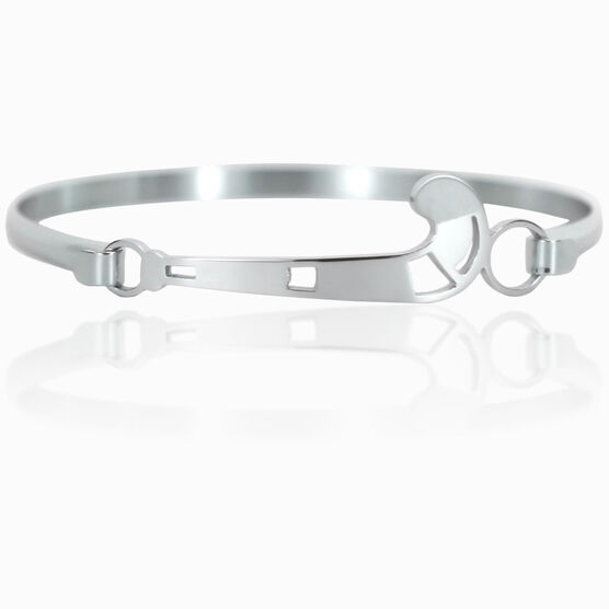 Field Hockey Stainless Steel Bracelet