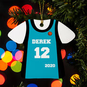 Basketball Ornament - Personalized Jersey