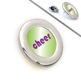 Cheerleading Lapel Pin CHEER