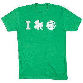 Basketball Tshirt Short Sleeve I Shamrock Basketball