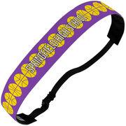 Basketball Juliband No-Slip Headband - Personalized Basketball Stripe Pattern