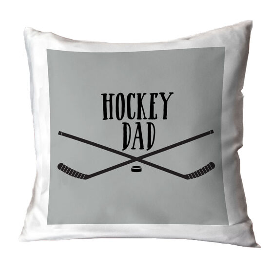 Hockey Throw Pillow - Hockey Dad