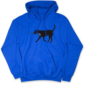 Hockey Hooded Sweatshirt - Howe the Hockey Dog