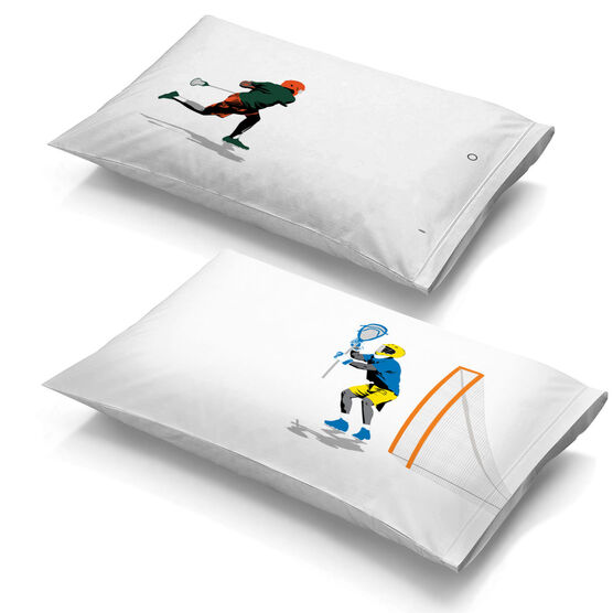 Guys Lacrosse Pillowcase Set - Go For The Goal