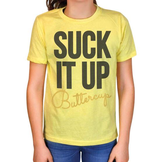 Vintage Cross Training T-Shirt - Suck It Up Buttercup