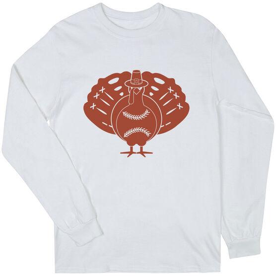 Baseball Long Sleeve T-Shirt - Turkey Player