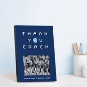 Cheerleading Photo Frame - Thank You Coach