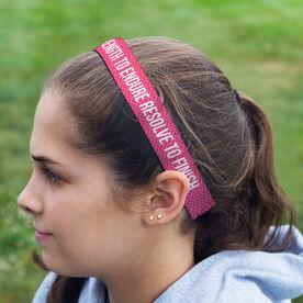 Athletic Juliband No-Slip Headband - Personalized Chevron