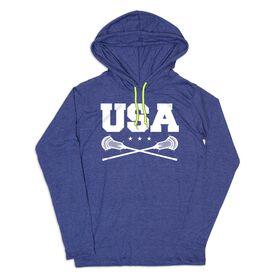 Guys Lacrosse Lightweight Hoodie - USA Lacrosse