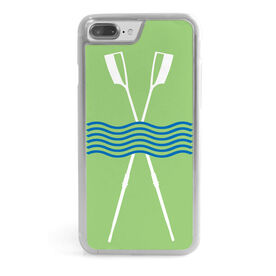 Crew iPhone® Case - Crossed Oars River