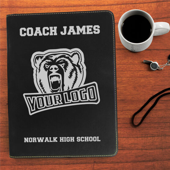 Personalized Executive Portfolio - Coach Name Logo Team Name