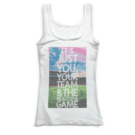 Soccer Vintage Fitted Tank Top - Beautiful Game