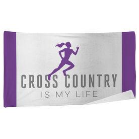 Cross Country Beach Towel My Life (Female)