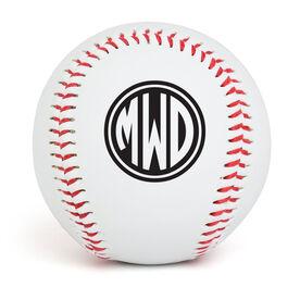 Custom Baseball Monogram
