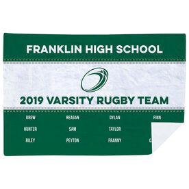 Rugby Premium Blanket - Team Roster