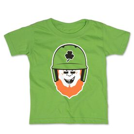 Baseball Toddler Short Sleeve Tee - Lucky McCurveball