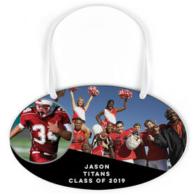Football Oval Sign - Class Of Team and Player Photo