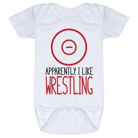 Wrestling Baby One-Piece - Apparently, I Like Wrestling
