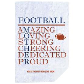 Football Premium Blanket - Mother Words
