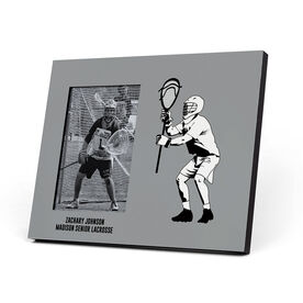 Guys Lacrosse Photo Frame - Goalie